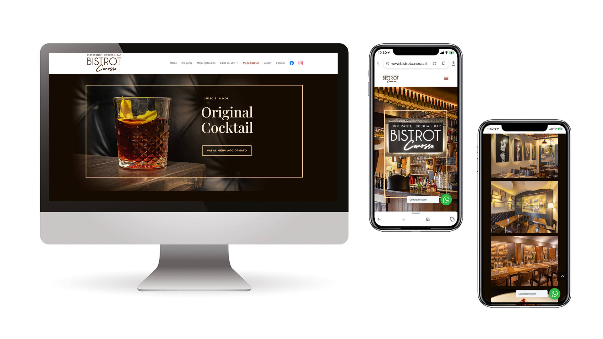 Home Page Bistrot Canossa