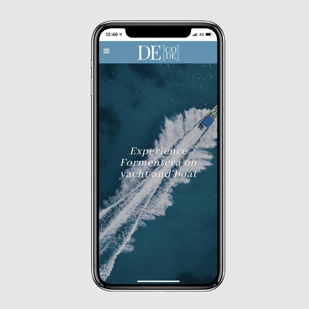 Smartphone Decode Formentera